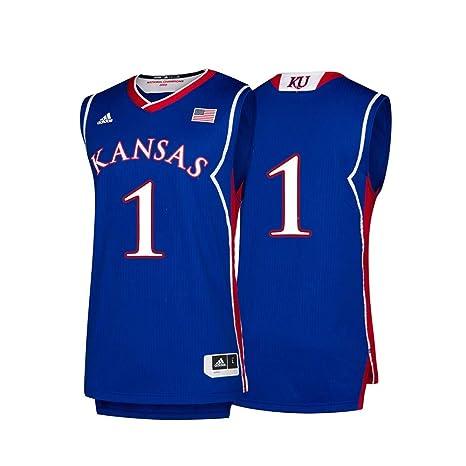 quality design f8473 9636a Amazon.com : adidas Kansas Jayhawks NCAA 1 Hardwood Classics ...