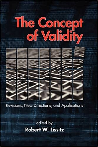 The Concept of Validity: Revisions, New Directions and Applications (Hc)