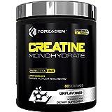 Forzagen Creatina Monohidrato en Polvo Premium Series | 400 g | 80 servicios | Suplemento Gym