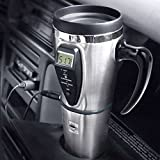Heated Smart Travel Mug with Temperature Control