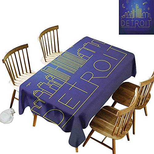 Rectangular tablecloths in a Variety of Colors and