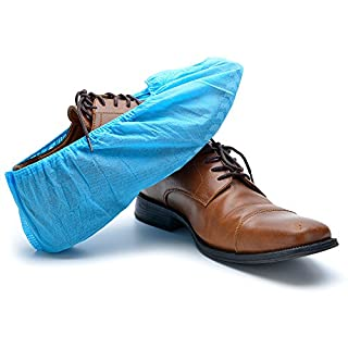 Strongman Tools High-Quality Extra-Thick Disposable Shoe Covers - fits shoes