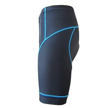 Herren Männer Fahrradhosen kurze Hosen Radlerhosen Kompression Jogging Shorts