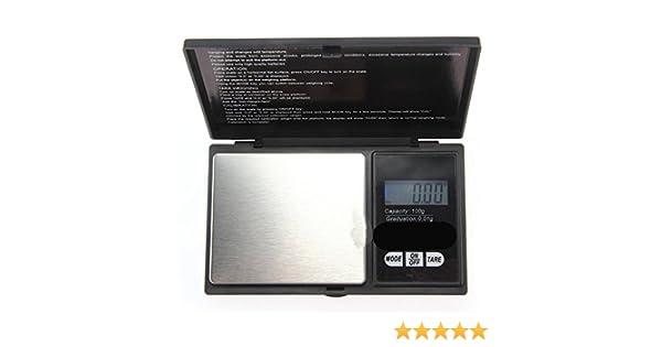 DeliaWinterfel Báscula Digital de precisión - Peso máximo: 1000 g/Granularidad: 0, 1 g - Color Plateado by: Amazon.es: Industria, empresas y ciencia