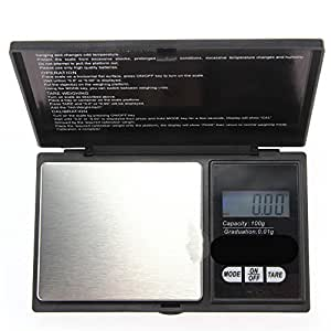 1000 g / 0.1 g Pocket Digital Scales for Gold or Coins - Black [version:x8.5] by DELIAWINTERFEL