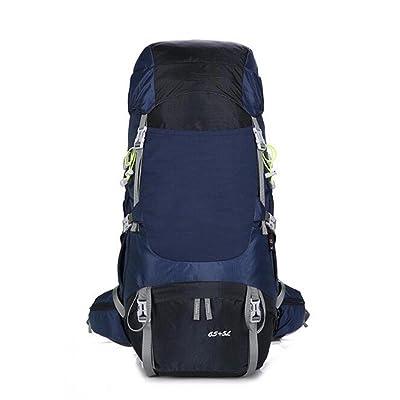 Kiki extérieur Sacs à dos Grande capacité en nylon étanche anti-déchirure alpinisme Camping 70L