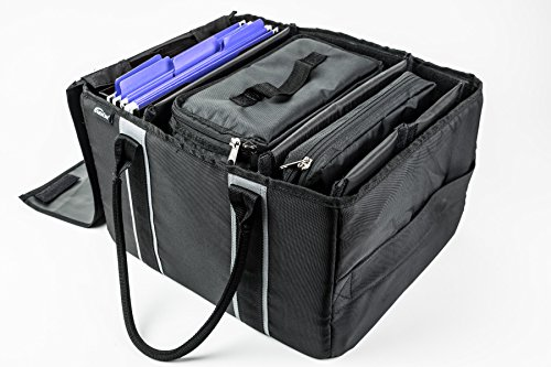 AutoExec AETote-08 Black/Grey File Tote with One Cooler and One Hanging File Holder by AutoExec (Image #16)