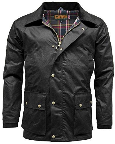 Negro Barker chaqueta capucha con hombre para desmontable Game RqB0nfwB