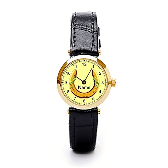 Tinane Best Leather Strap Watches Horseshoe Best Wrist Watch