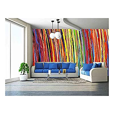 Fascinating Artistry, Stripe Pattern Paint Oil Colors, Made to Last