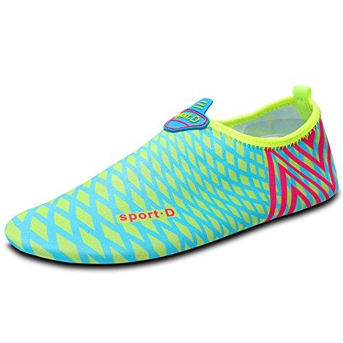 SAGUARO® Skin Shoes descalzo acuático Aqua calcetines para de nadada de la playa de la resaca de la yoga Salida de calidad barata GCwAmqRSA
