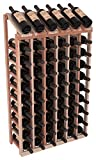 Wine Racks America Redwood 6 Column 10 Row Display Top Kit 13 Stains to Choose From!