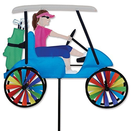 17 In. Lady Golf Cart Spinner by Premier Kites ()