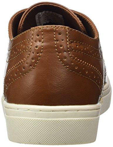Springfield 2996308_30, Zapatos De Cordones Hombre, Marrón Oscuro, EU 44