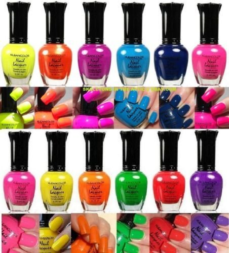 kleancolor-nail-polish-neon-collection-set-of-12-lacquer-full-size12-neon-set-complete