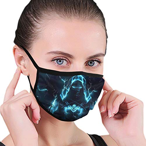 Dean Carnegie Des_Tiny 2 Hun_TER Face Mask Adjustable Mouth Mask Anti Dust Face Mouth Mask Reusable Mask for Cycling Camping Travel