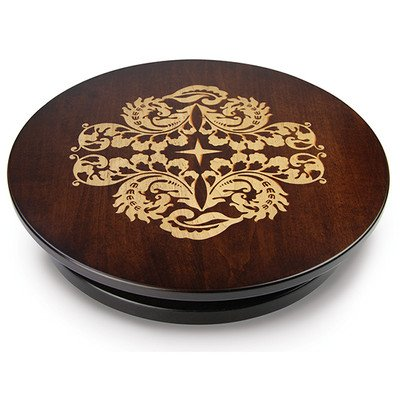 Artisan Woods Fern Leaf Lazy Susan by Martin's Home Wares