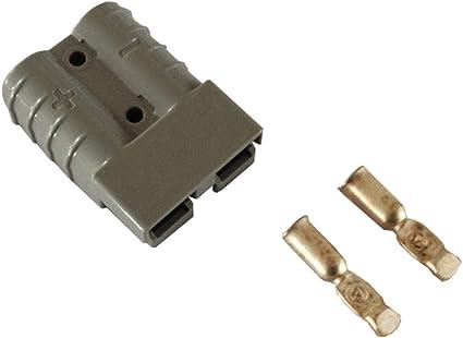 Batterie Stecker 175a 16 Mm2 Grau Steckverbinder Für Gabelstapler Kabel Beleuchtung