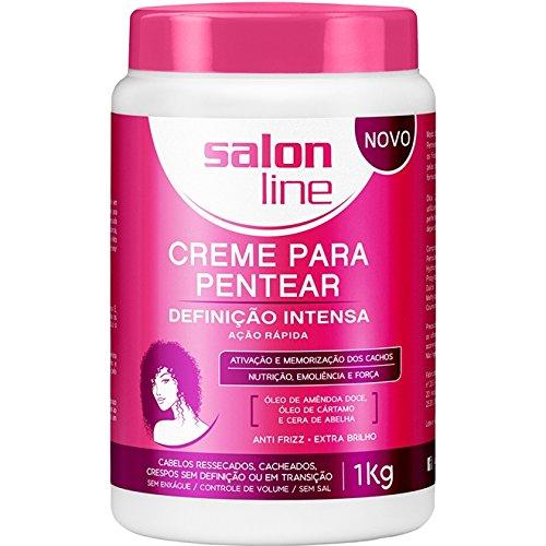 (Linha Tratamento (Creme Para Pentear) Salon Line - Definicao Intensa 1000 Gr - (Salon Line Treatment (Combing Cream) Collection - Intense Definition Net 35.27 Oz))