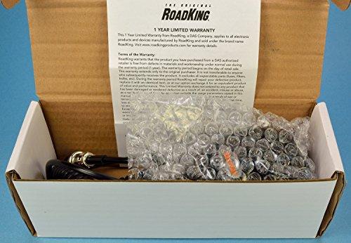 RoadKing RK56B Noise Canceling Mic wired 4 Pin CB Radio Cobra Uniden Galaxy