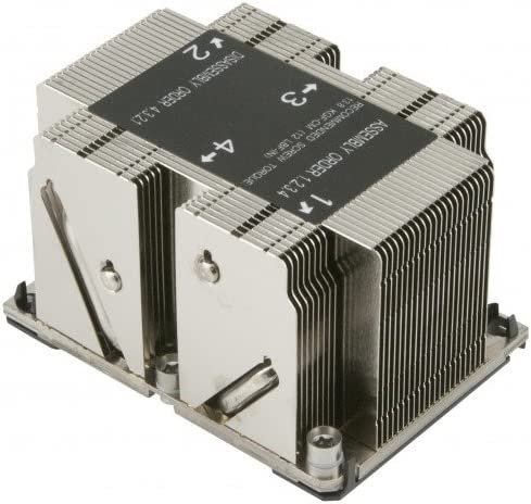 Supermicro SNK-P0068PS 2U Passive CPU Heat Sink Socket LGA3647-0