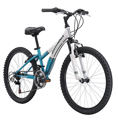 Where to Shop Diamondback Bicycles 2015 Tess 24 Complete Hard Tail Mountain Bike, 24-Inch Wheels/One Size, Teal