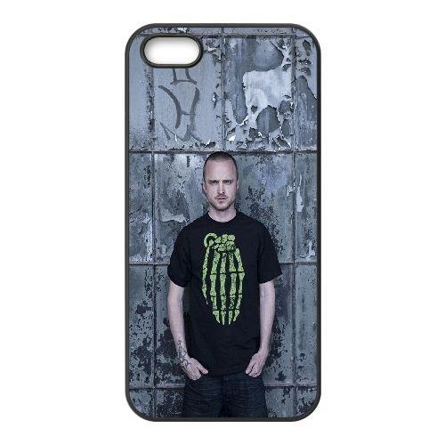 Breaking Bad Jesse Pinkman1 coque iPhone 4 4S cellulaire cas coque de téléphone cas téléphone cellulaire noir couvercle EEEXLKNBC23774