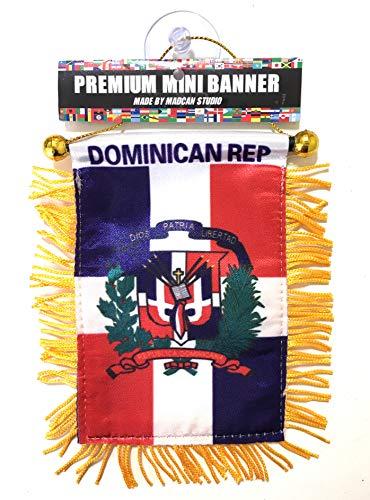 Dominican Republic car Flag