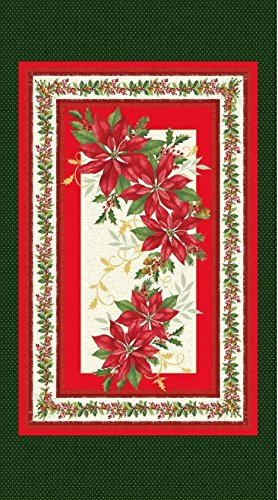 Marcus Brothers 'Holiday Blooms' Cotton Fabric 24