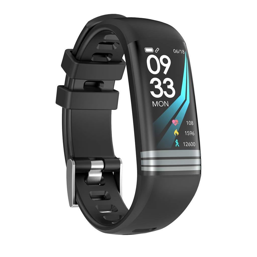 Letdown Smart Watch Smart Camera Control, G26s Smart Watch Sports Fitness Activity Heart Rate Tracker Blood Pressure Wrist Watch Under 20 (Black)