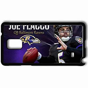 Personalized Samsung Note 4 Cell phone Case/Cover Skin 939 baltimore ravens 0 Black
