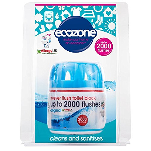 Ecozone up to 2000 Flushes Forever Flush Toilet Block 225g by ECOZONE (Image #1)