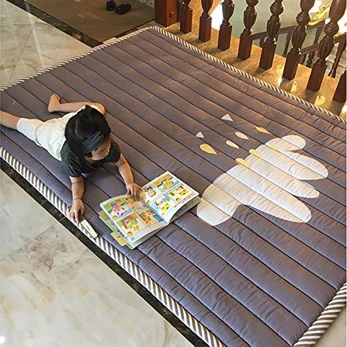 YACAOS Bright Baby Game Pad Für Kinder 2 cm Dicke rutschfeste Matte Abnehmbarer Waschbarer Teppich Set Kinder 140X195cm    3