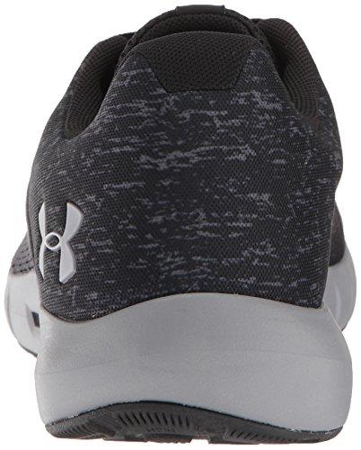 Armour Opt Under 001 Black Graphite G Shoe Micro Fiber Men Pursuit Running dAq4Ypwqx