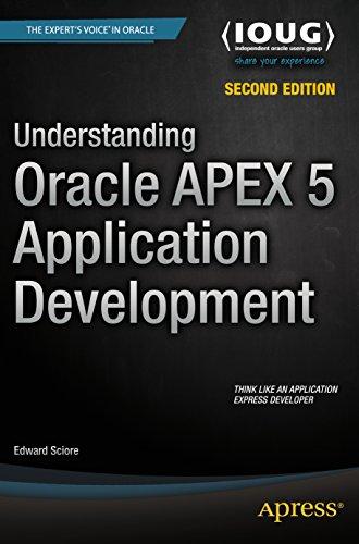 Understanding Oracle APEX 5 Application Development Pdf
