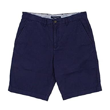Tommy Hilfiger Mens Cotton Shorts 34 Inches Evening Blue at Amazon ...
