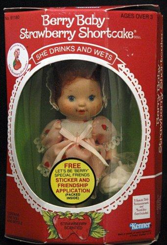 Baby strawberry shortcake doll