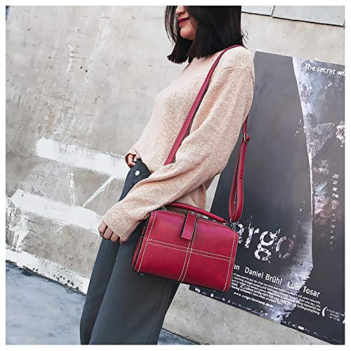 Casual Sanfashion En Nylon Dos Cloth À Rouge Oxford Main Femme Sacs Sac Ladies qqw16P