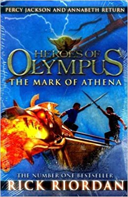 The Mark of Athena (Heroes of Olympus ) (English)(Paperback)