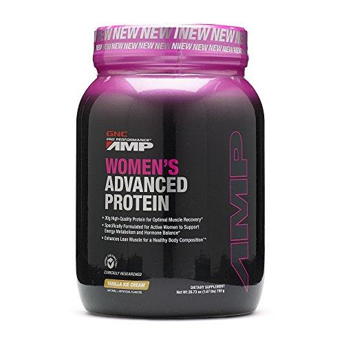 Gnc Protein Whey (GNC Pro Performance AMP Womens Advanced Protein - Vanilla Ice)