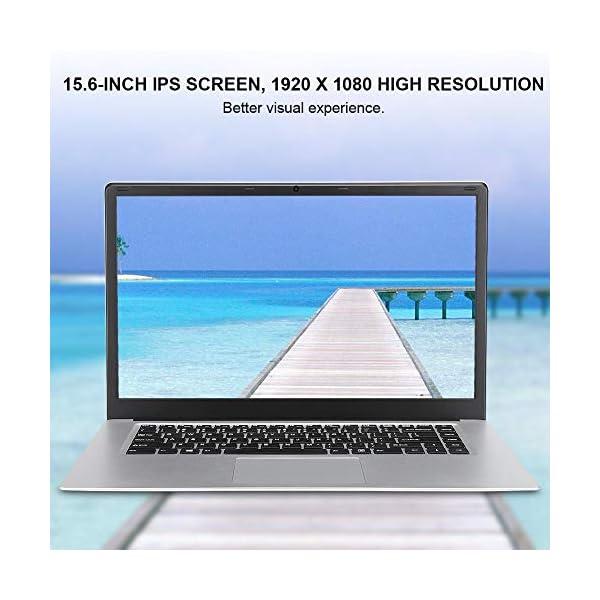 "15.6 "" Notebook - YEPO N15 15,6 pollici IPS 1920 x 1080 HD Notebook PC Laptop per Windows 10, per CPU Intel Celeron N3350, DDR3 6GB, 64GB EMMC, Supporto USB/Bluetooth 4.0/Mini HDMI/WiFi(Spina UE) 2 spesavip"