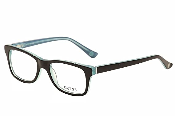 9c0a61388f Guess Women s Eyeglasses GU2518 GU 2518 005 Black Full Rim Optical Frame  50mm