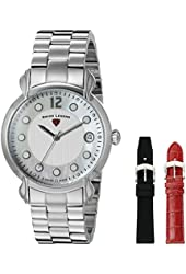 Swiss Legend Watches Layla Stainless Steel White Dial