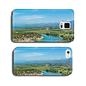 View at river Buna and Shkodra city cell phone cover case Samsung S6