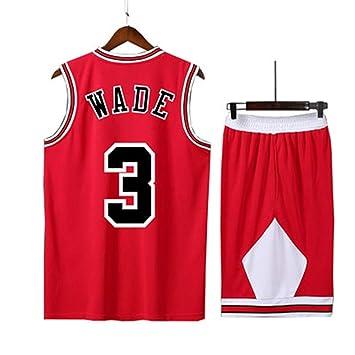 LYX-B Bulls, Uniforme de Baloncesto, Jersey de Hombre, Negro ...