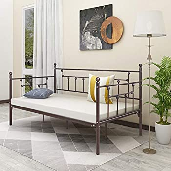 Amazon Com Vecelo Daybed Frame Twin Size Multifunctional