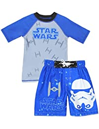 Star Wars Boys Swim Trunks and Rash Guard Set (Little Kid/Big Kid)