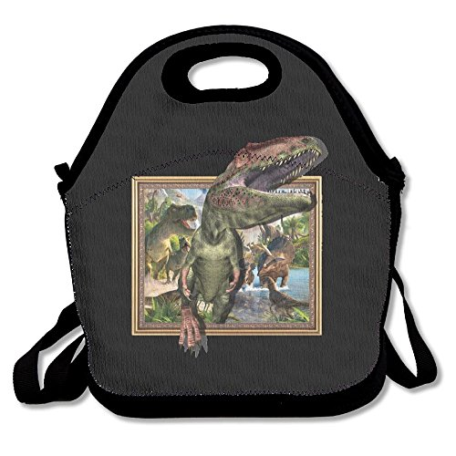 3D Dinosaur Lunch Bag Tote Handbag Lunch Boxes For Adults, Kids, Girls, And Women