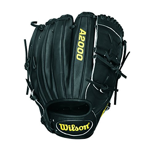 Wilson A2000 CK22 Clayton Kershaw Pitcher Baseball Glove, Black, Right Hand Throw, 11.75-Inch