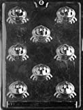 Cybrtrayd Life of the Party A003 Frog Bon-Bon Chocolate Candy Mold in Sealed Protective Poly Bag Imprinted with Copyrighted Molding Instructions